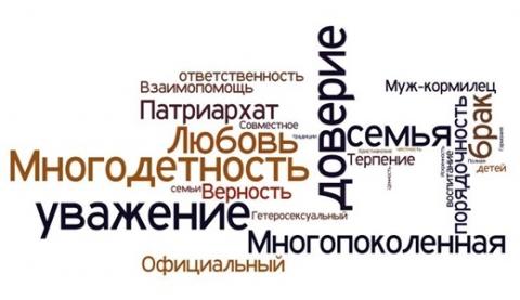 «Подавляющие большинство» России за «традиционные ценности»?